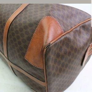 Celine Bags - CELINE Boston Authentic Macadam travel bag 600491
